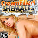 Cream filled shemales